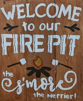 Smore the Merrier Sign Design by Toni Dent